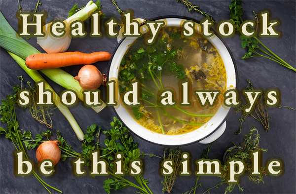 alternative to vegetable stock