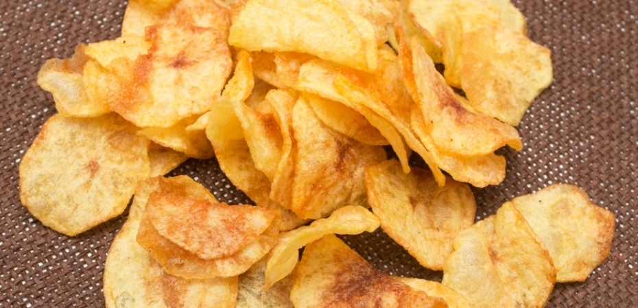 how to make chips at home